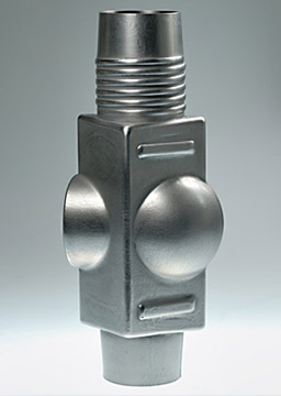 stainless steel demonstrator manufactured with HEATforming